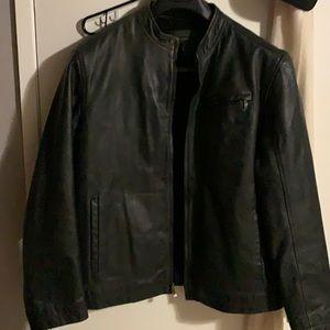 Black leader jacket